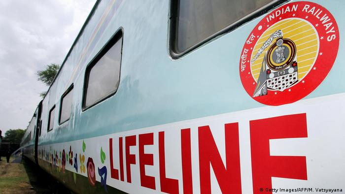 Indien | Lifeline Express (Getty Images/AFP/M. Vatsyayana)