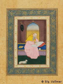 Изображение святого Иеронима, Индия, 1620 год