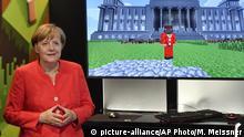 Deutschland | BK Merkel auf der Gamescom