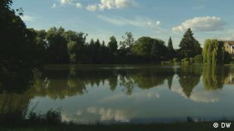 Obersee Lake in Lichtenberg, Berlin
