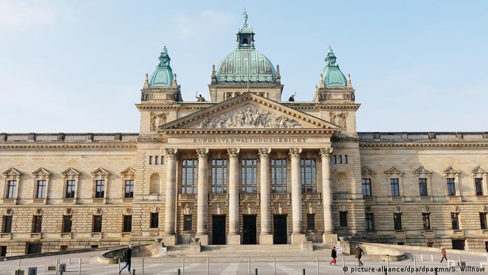 Deutschland   Bundesverwaltungsgericht in Leipzig