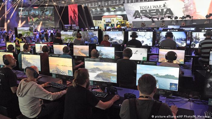 Gamescom 2017 in Cologne (picture-alliance/AP Photo/M. Meissner)