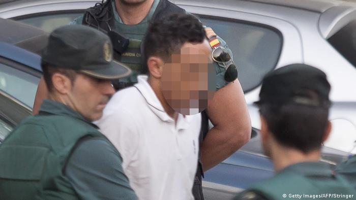 Spanien Verdächtiger Terrorist Driss Oukabir in Tres Cantos (Getty Images/AFP/Stringer)
