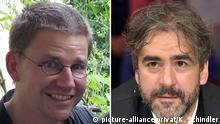 Deutschland Peter Steudtner und Deniz Yücel (picture-alliance/privat/K. Schindler)
