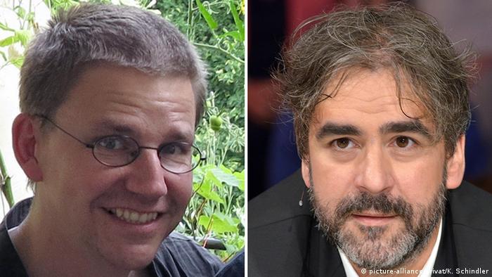 Türkiye'de tutuklu bulunan Peter Steudtner ve Deniz Yücel.