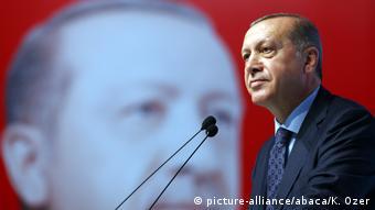 Turkey's Recep Tayyip Erdogan in Istanbul