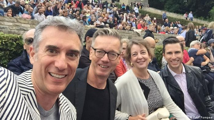 Gero Schliess and friends at the Waldbühne Berlin (Paul Pompeo)