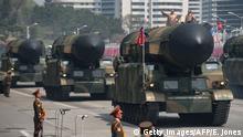 Nordkorea Militärparade Symbolbild