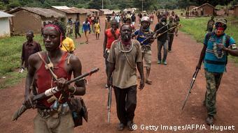 Zentralafrikanische Republik Kämpfe