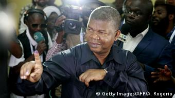 João Lourenço vota em Luanda