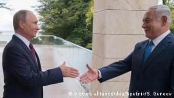 Russland Netanjahu trifft Putin