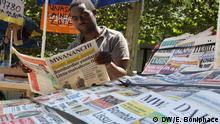 Tansania Daressalam - Alle Zeitungen und Zeitschriften in Tansania müssen neu registriert werden