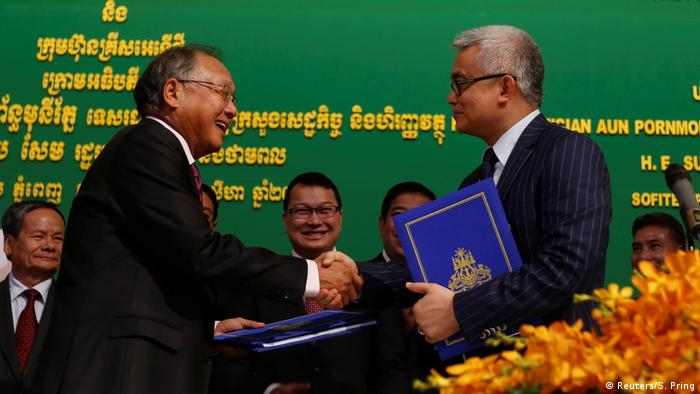 S'pore firm inks deal to run Cambodia's first oil field