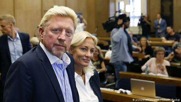 Deutschalnd Frankfurt DTB Pressekonferenz Boris Becker (picture-alliance/AP Photo/M. Probst)
