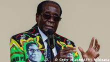 Bildergalerie langjährige Herrscher Robert Mugabe