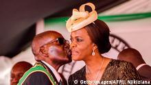 Bildergalerie langjährige Herrscher Robert Mugabe mit Ehefrau Grace