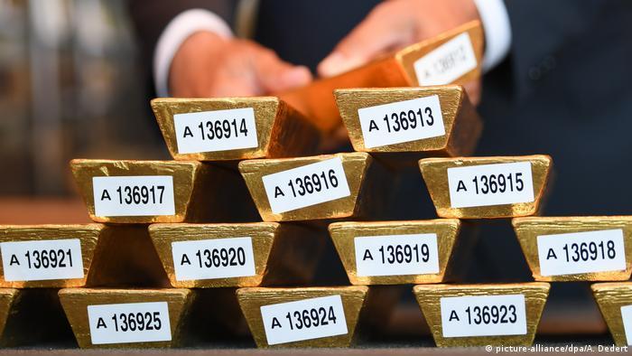 Deutschland Deutsche Bundesbank Goldreserven aus dem Ausland