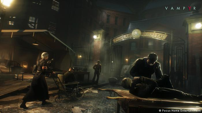 Screenshot of the game Vampyr (Focus Home Entertainment)