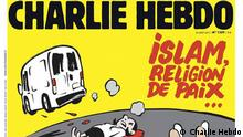 Cover Charlie Hebdo Barcelona Terror Islam 23.08.2017