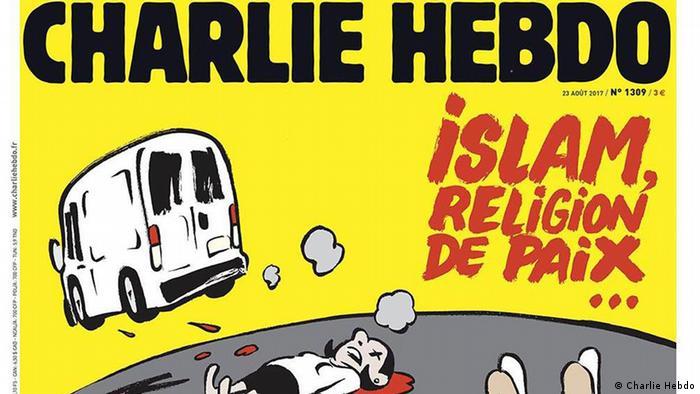 Cover Charlie Hebdo Barcelona Terror Islam (Charlie Hebdo)