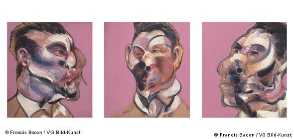 Three studies of George Dyer von Francis Bacon