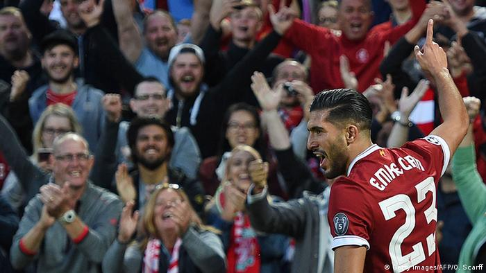 Champions League - Playoffs - Liverpool vs TSG 1899 Hoffenheim Can (Getty Images/AFP/O. Scarff)