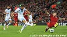 UEFA Champions League - Play-Off Liverpool v TSG 1899 Hoffenheim Uth (picture-alliance/empics/N. french)
