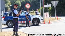 Spanien Terrorverdacht Polizisten
