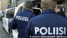 Finnland Symbolbild Polizei