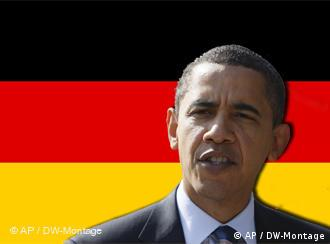 Symbolbild Obama in Deutschland, Quelle: DW