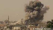 Syrien Kämpfe um Rakka