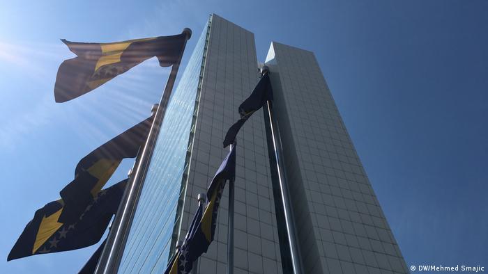Bosnien-Herzegowina Regierungsgebäude in Sarajevo