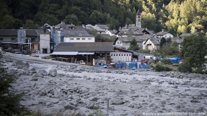 Alemanes, austriacos y suizos entre desaparecidos tras un deslizamiento de rocas que tuvo lugar en la montaña de Piz Cengalo, en el cantón suizo de los Grisones y cerca de la frontera con Italia. 24.08.2018