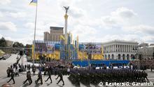 Ukraine Parade zum Unabhängigkeitstag