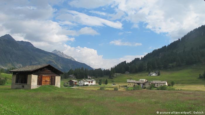 Schweiz Sils Maria