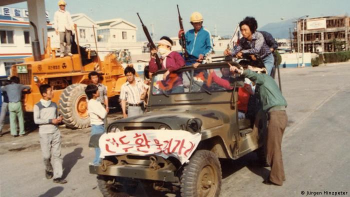 Südkorea Unruhen in Kwangju (Jürgen Hinzpeter)