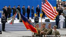 Kiev Unabhängigkeitstag Besuch Mattis Parade