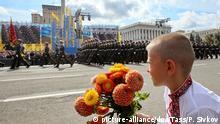 Ukraine Tag der Unabhängigkeit in Kiew