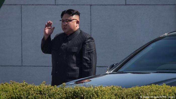 Nordkorea Kim-Jong-Un Limousine (Getty Images/AFP/E. Jones)