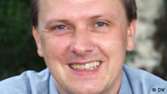 Wissenschaftsjournalist Michael Lange (Foto: M. Lange/DW)