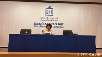 Angola erste Wahlergebnisse (DW/A. Cascais)