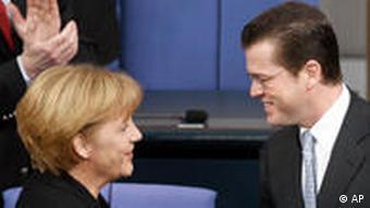 Merkel and Guttenberg
