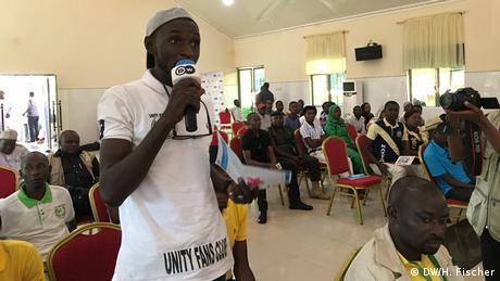 Townhall-Debate Migration Dilemma in Jos, Nigeria (DW/H. Fischer)