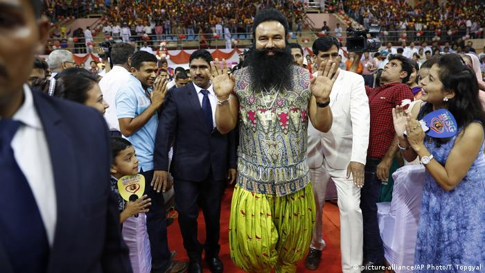 Guru Ram Rahim in Panchkula India