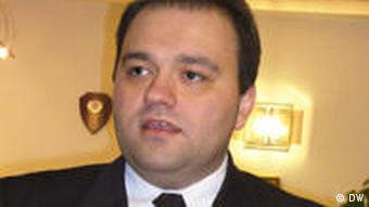 Mazedonien Der Vizeministerpräsident Ivica Bocevski
