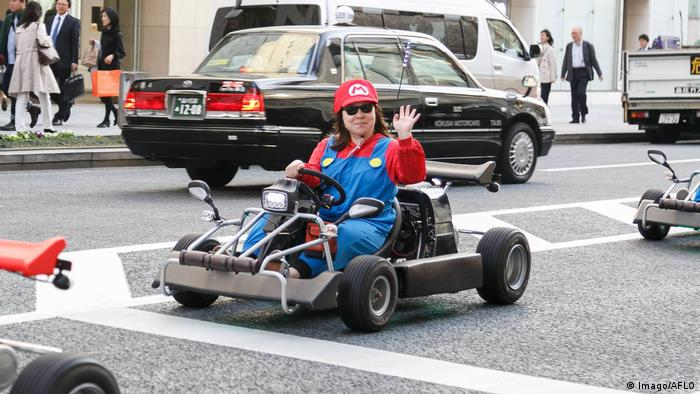 Japan Tokyo - Super Mario Kart in Tokyo (Foto: Imago/AFLO)