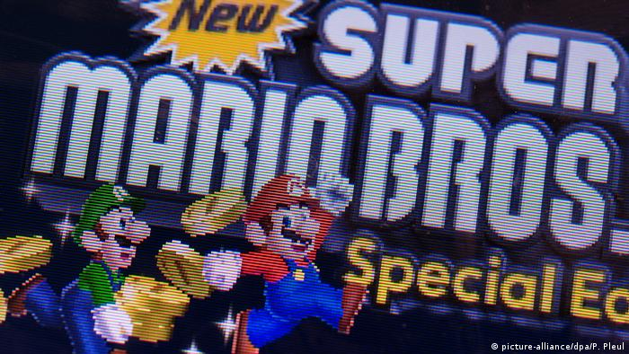 Super Mario Bros (Foto: picture-alliance/dpa/P. Pleul)