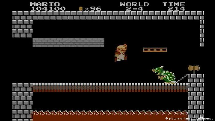 Super Mario Bros 1985 Screenshot (Foto: picture-alliance/dpa/Nintendo)