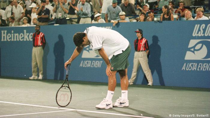 Tennis US Open 1996 Pete Sampras (Getty Images/S. Botterill)