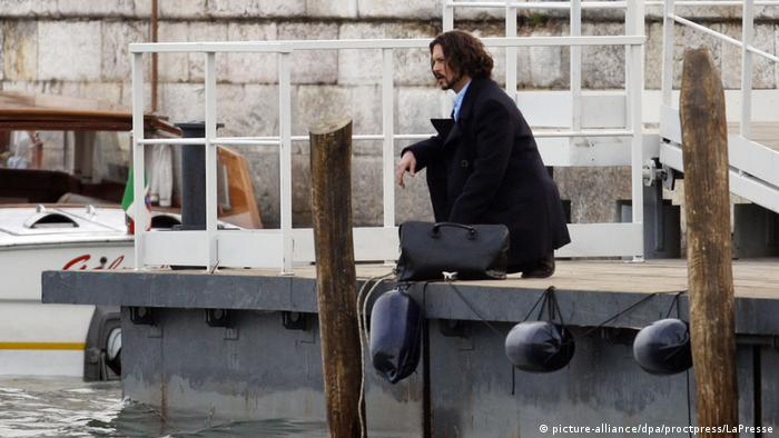 Dreharbeiten zum Film The Tourist in Venedig (picture-alliance/dpa/proctpress/LaPresse)